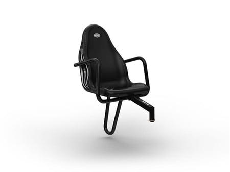 BERG Passenger Seat Fendt Black-0