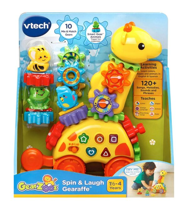 VTech GearZooz Spin & Laugh Gearaffe