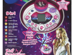 Vtech Kidi Super Star Black 2-863