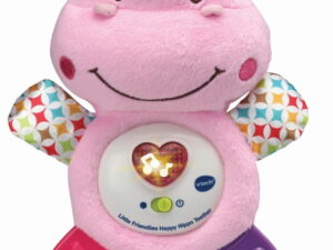 Vtech Little Friendlies Happy Hippo Teether Pink-0