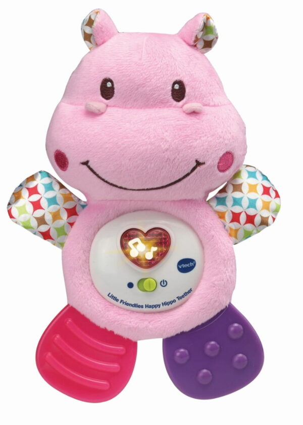 Vtech Happy Hippo Teether Pink