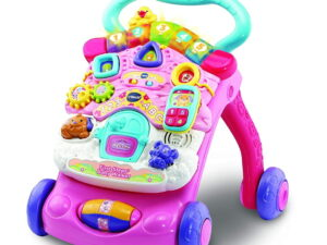 Vtech First Steps Baby Walker Pink-0