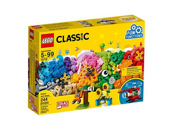 Lego Bricks And Gears -1207