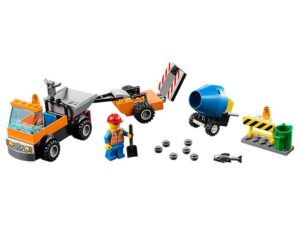 Lego Road Repair Truck -0