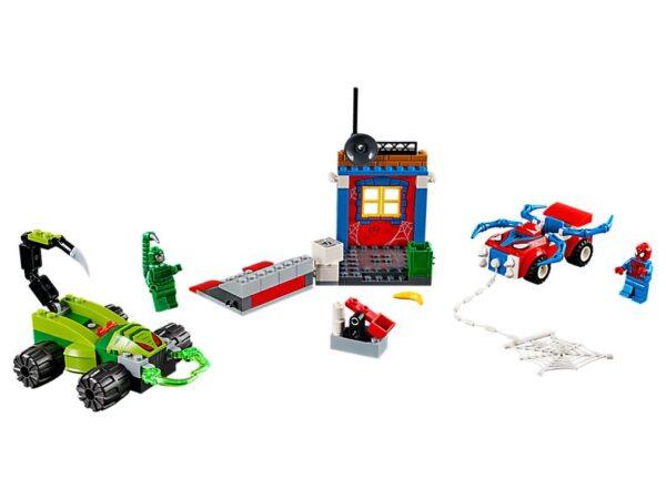 Lego Spider Man V Scorpion Showdown -0