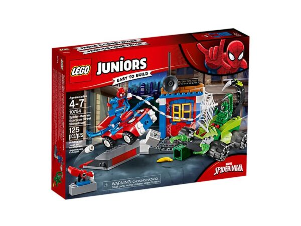 Lego Spider Man V Scorpion Showdown -1372