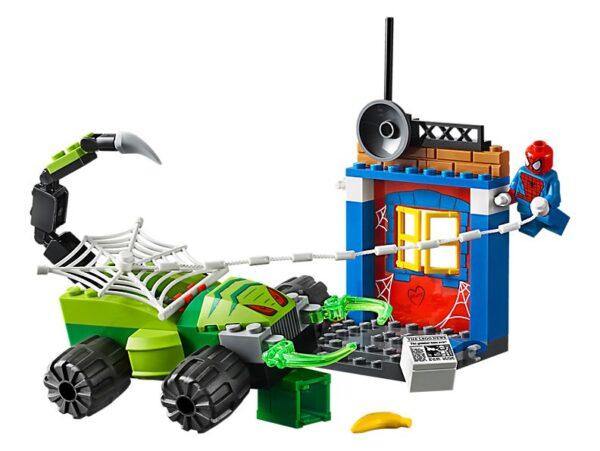 Lego Spider Man V Scorpion Showdown -1375