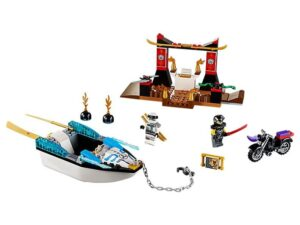 Lego Zane's Ninja Boat Pursuit-0