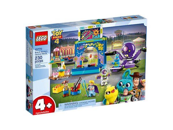 Lego Toy Story 4 Buzz & Woody's Carnival Mania