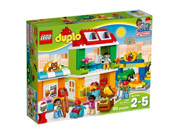 Lego Town Square -1443