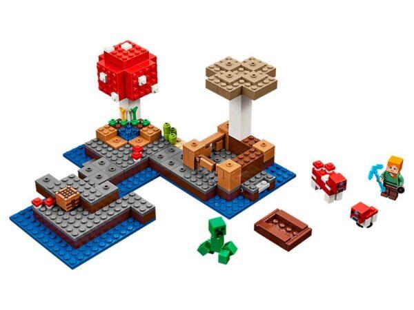 Lego The Mushroom Island-0