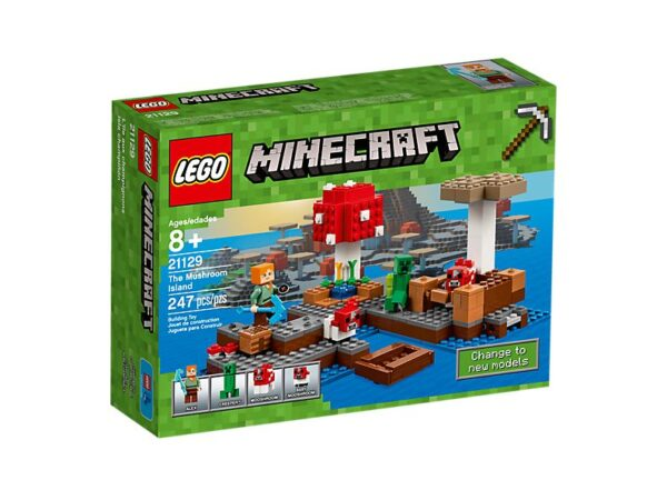 Lego The Mushroom Island-1700