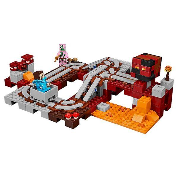 Lego The Nether Railway