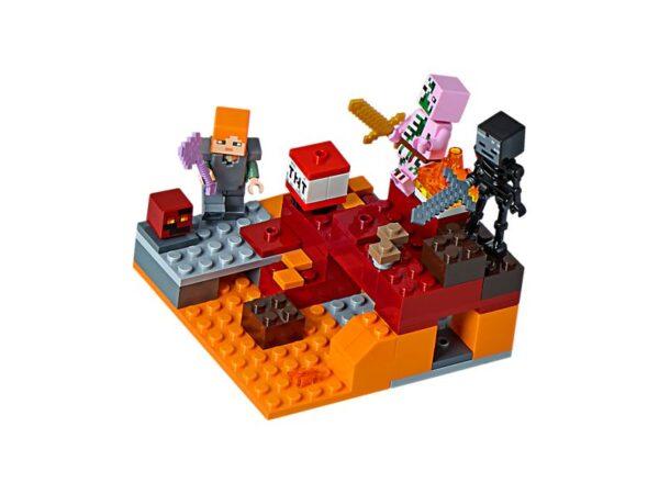Lego Te Nether Fight-0