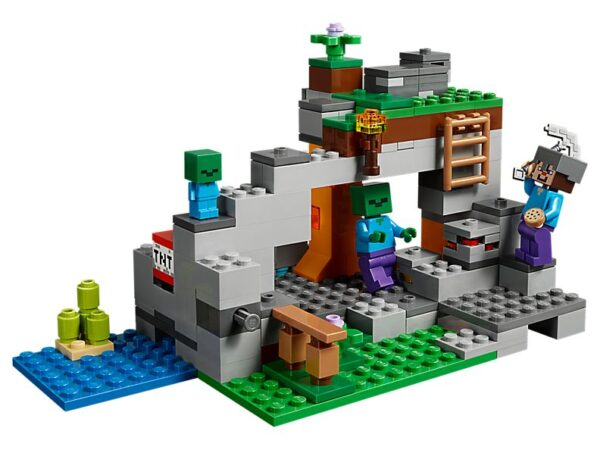 Lego The Zombie Cave-1738
