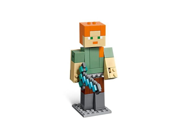 Lego Minecraft Alex Big Fig With Chicken-1759