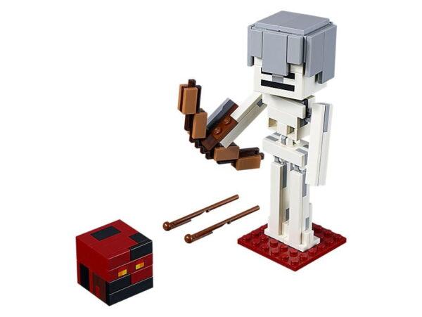 Lego Minecraft Skeleton Big Fig With Magma CU-0