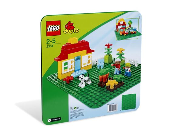 Lego Large Green Building Plate-0