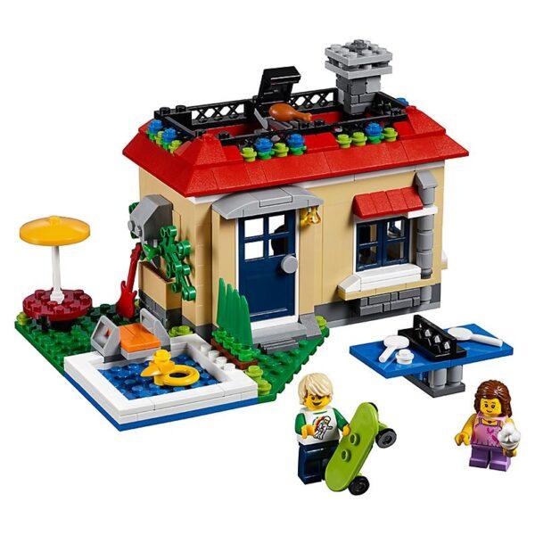 Lego Modular Poolside Holiday