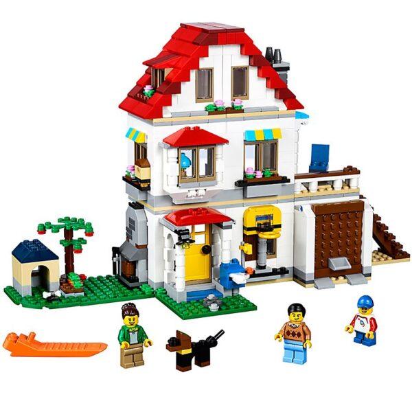 Lego Modular Family Villa-0