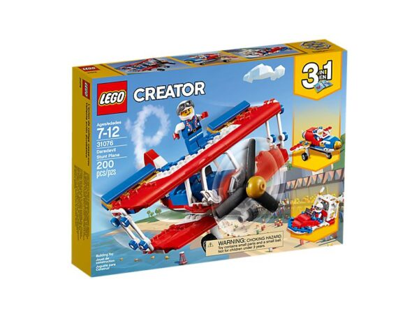 Lego Daredevil Stunt Plane-1885