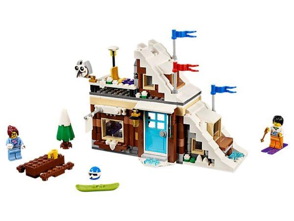Lego Modular Winter Vacation-0