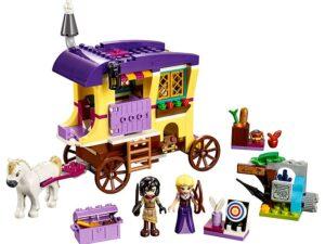 Lego Rapunzel's Traveling Caravan-0