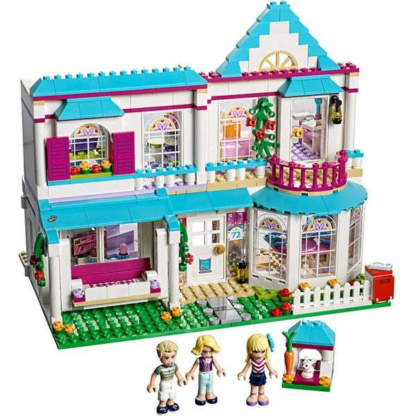 Lego Stephanie's House-0
