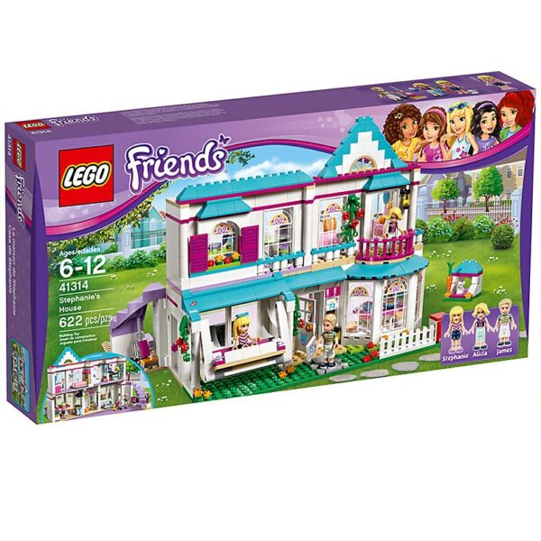 Lego Stephanie's House-2002