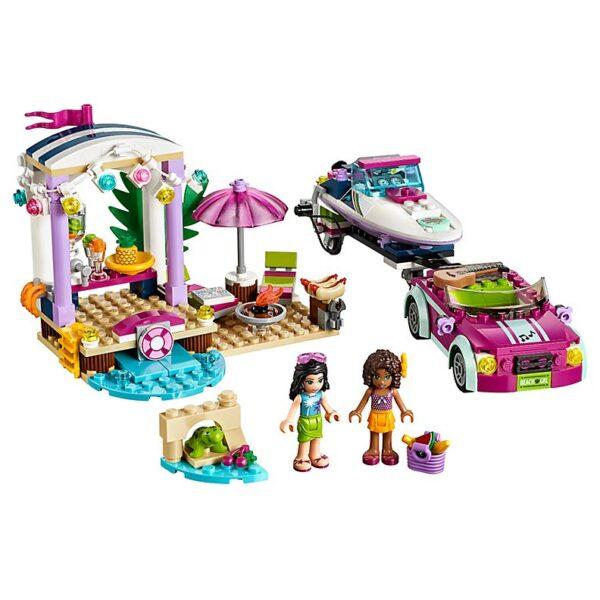 Lego Andrea's Speedboat Transporter