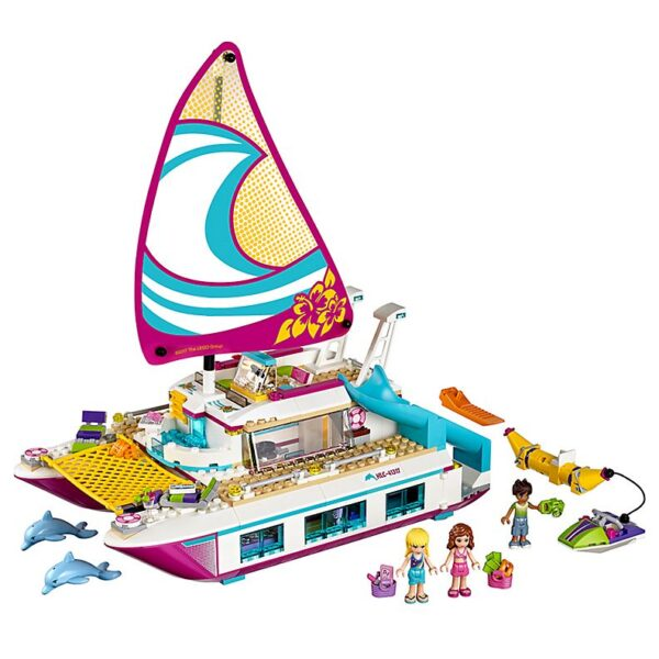 Lego Sunshine Catamaran-0