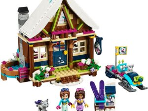 Lego Snow Resort Chalet-0