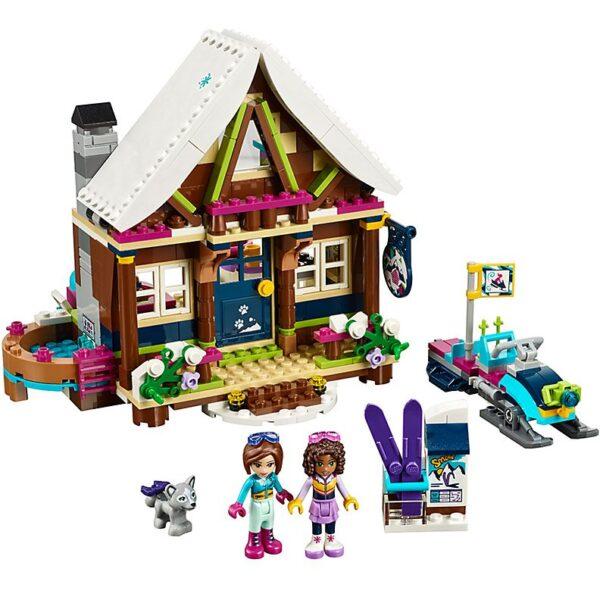Lego Snow Resort Chalet-0