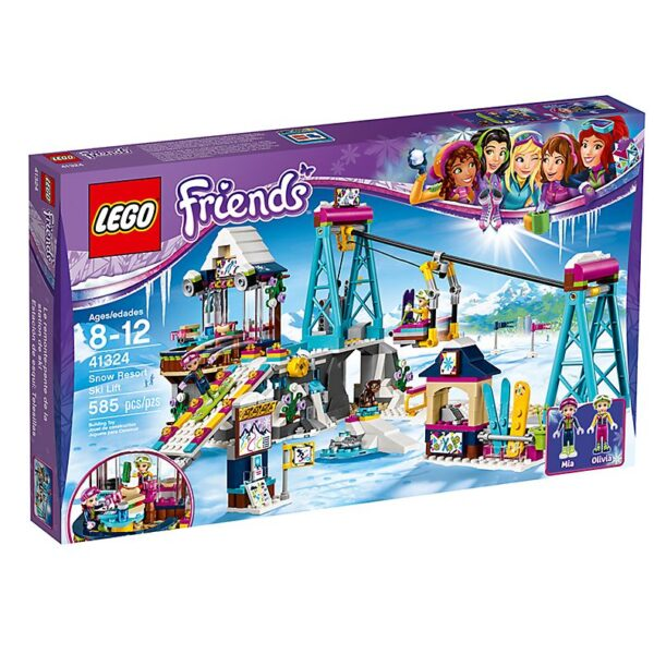Lego Snow Resort Ski Lift-2047