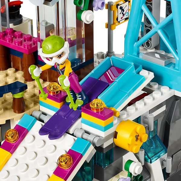 Lego Snow Resort Ski Lift-2048