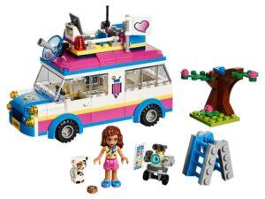 Lego Olivia's Mission Vehicle-0