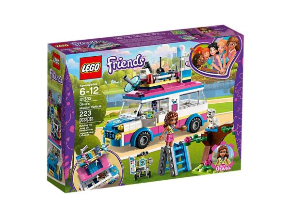 Lego Olivia's Mission Vehicle-2085