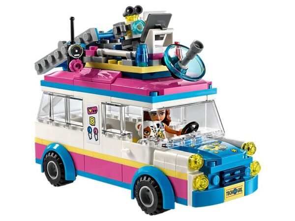 Lego Olivia's Mission Vehicle-2087