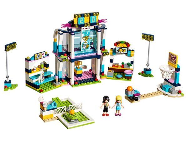 Lego Stephanie's Sports Arena-0