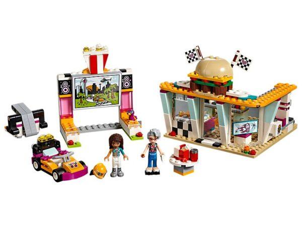 Lego Drifting Diner