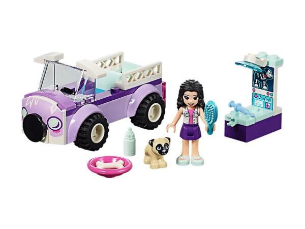 Lego Emma's Mobile Vet Clinic-0