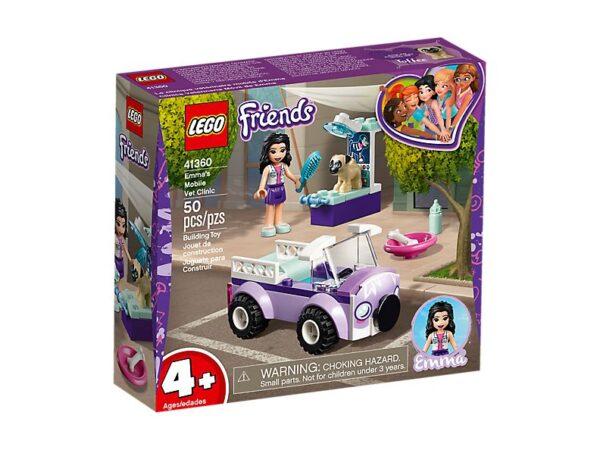 Lego Emma's Mobile Vet Clinic-2212
