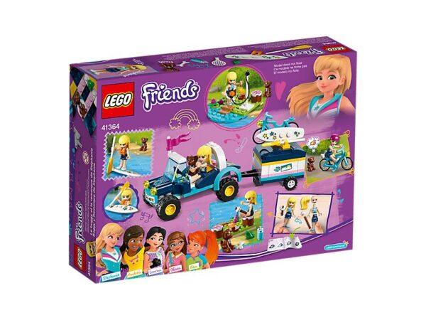 Lego Stephanie's Buggy & Trailer