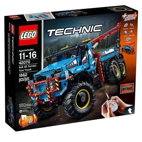 Lego 6×6 All Terrain Tow Truck
