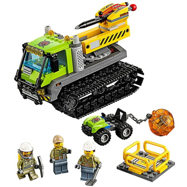 Lego Volcano Crawler