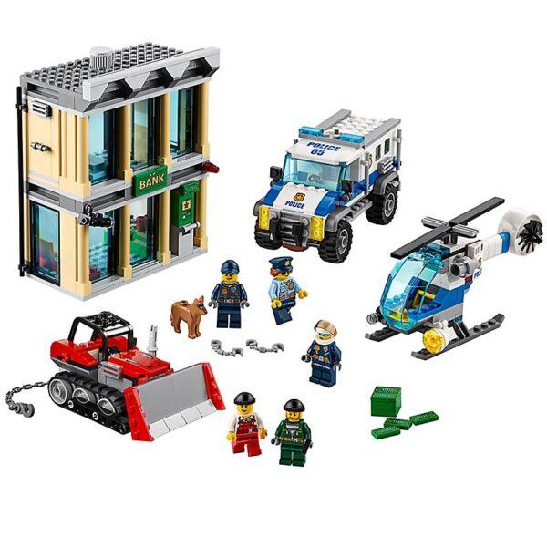 Lego Bulldozer Break-In-0