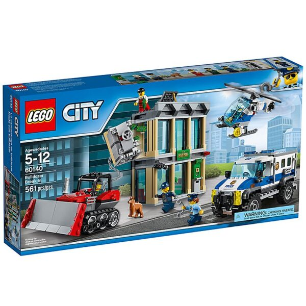 Lego Bulldozer Break-In-2490