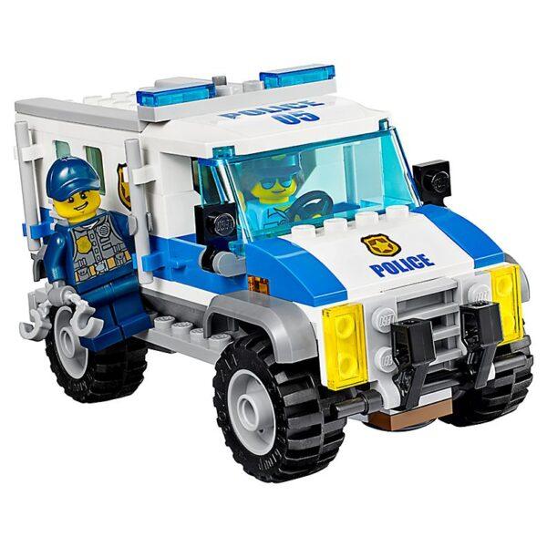 Lego Bulldozer Break-In-2492
