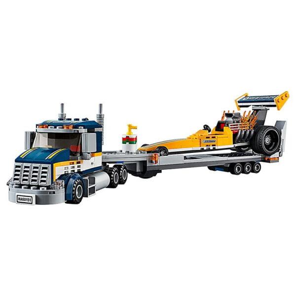 Lego Dragster Transporter