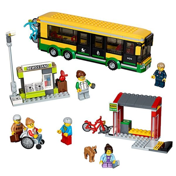 Lego Bus Station-0